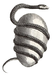 The Orphic Egg, from Bryant's An Analysis of Ancient Mythology, 1774